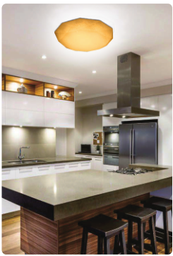 Shenzhen High Power Round Led 50w Remote Control Led Ceiling Light ...