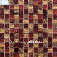 decorative mosaic tile for wall and floor decoration,hotel&KTV decoration