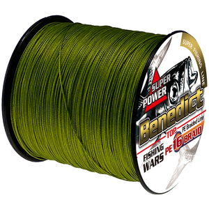 Super hollowcore sea fishing line 300M 328yards 16strands strong braided wires rope