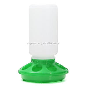 chicken feeders and drinkers 1KG poultry feeders drinkers /plastic feeder for chicken