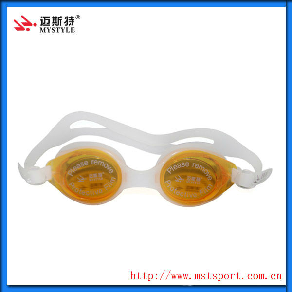 2015 fashion new Professional manufacturer of one piece swimming goggles