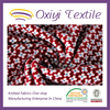 recycled polyester spandex stretch knitted fabric