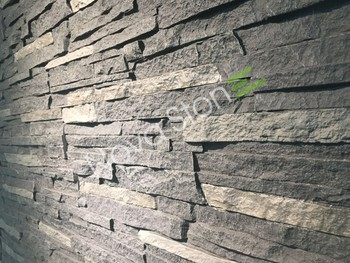 Instalacion rapida panel piedra artificial para - Revestimiento piedra artificial ...