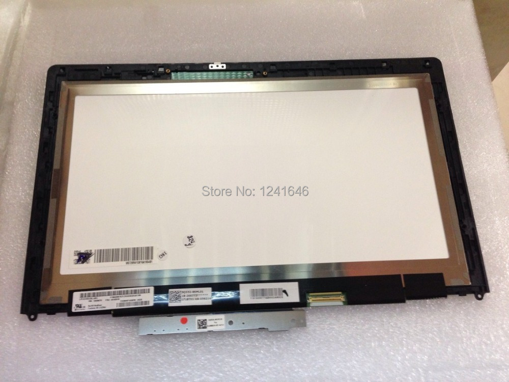 13.3 assembly for led panel LP133WD2 SLB1 with touch panel for Lenovo IdeaPad Yoga 13 IPS Wide View angle screen