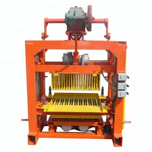 6 inches hollow block making machine on sale