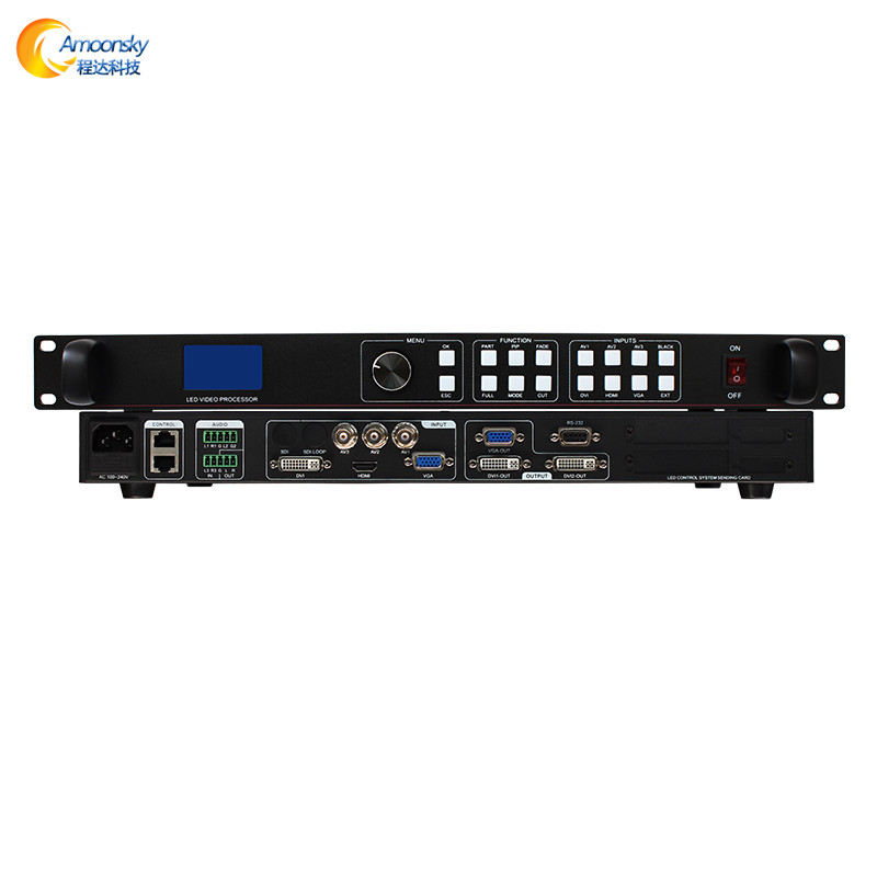 Amoonsky lvp 613 hd led video processor for led cabinet p3 91 trailer led <strong>screen</strong>