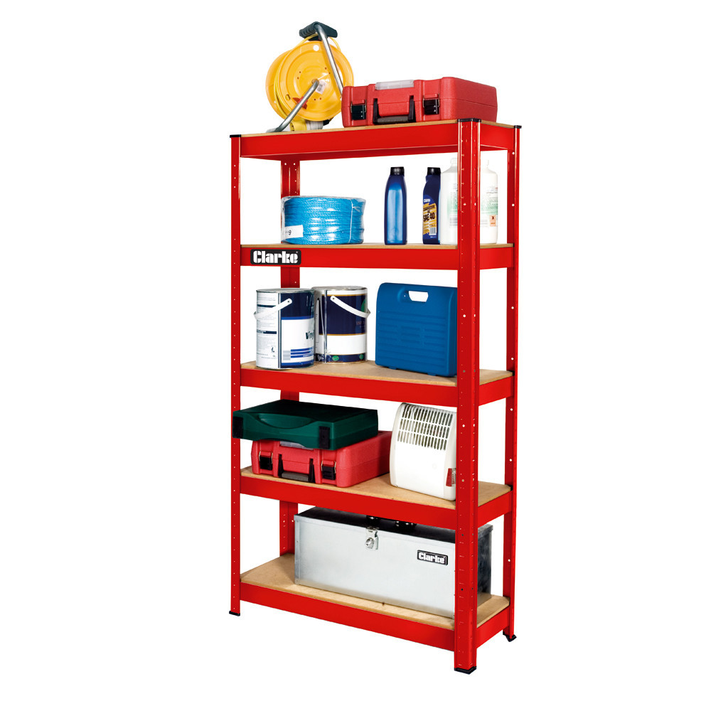 Storage Shelving Unit 5 Shelves Steel Heavy Duty Organizer Indoor Outdoor Rack