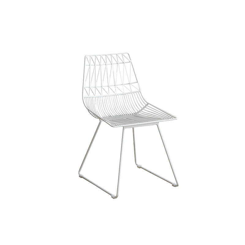 KD design easy assembly hotel dining chair white kitchen counter bar stool