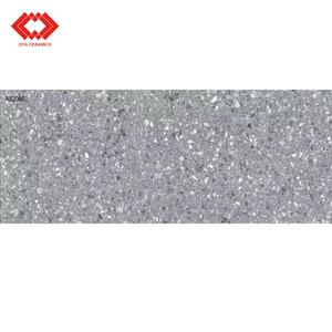 2019 hot selling factory porcelain tile China grey color tile stock concrete floor tile for kitchen and bathroom