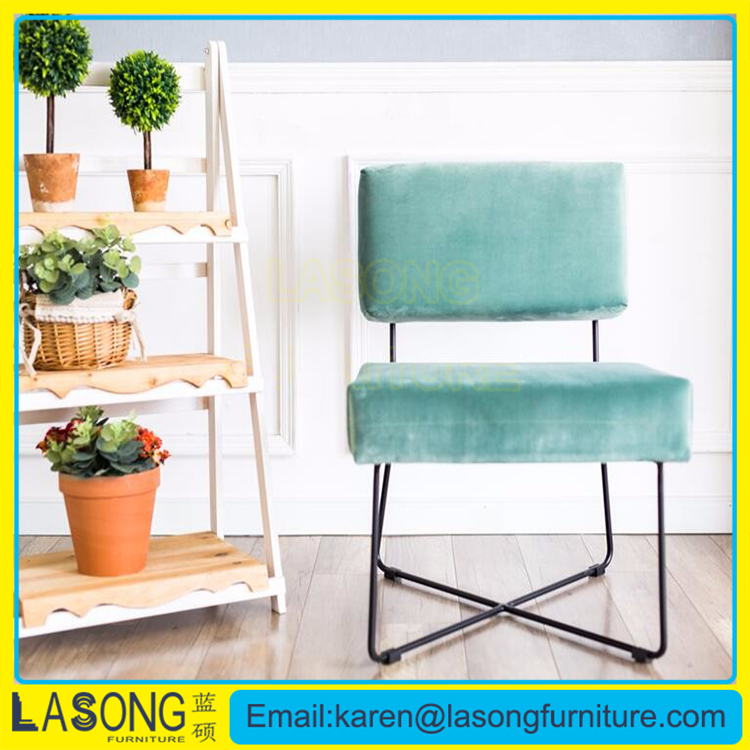 Lasong new model high quality fabric cover living room accent chair