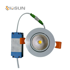 CE RoHS FCC Certification 75mm Cutout Triac Dimmable 6Watt COB Recessed Led Downlight 6W Germany