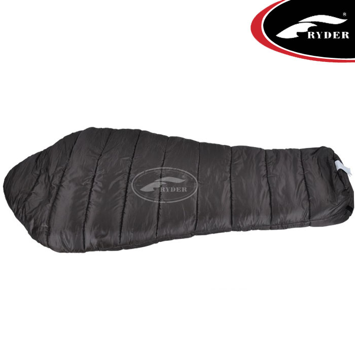 Camping Travel Double Layer Human Body Mummy Cotton Sleeping Bag