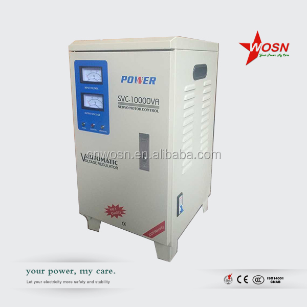 10kw power stabilizer 240v 10kva svc usage home voltage regulator