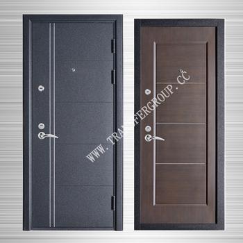 Custom Made Mdfsteel Door Entry Steel Security Door Buy Mdf Steel