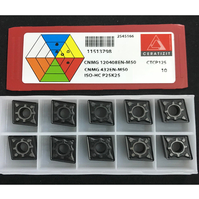 10 Wendeplatten     WNMG 080408EN-TM     CTC1115      Ceratizit       5753
