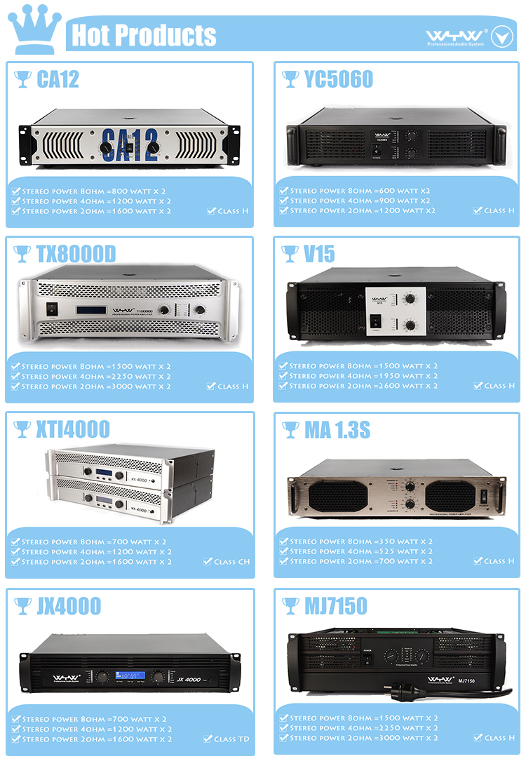 Xti 4000 2.1 Channel Amplifier Circuit Board
