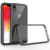 For Iphone XR XS Max Scratchproof Clear Crystal Transparent Acrylic Phone Case