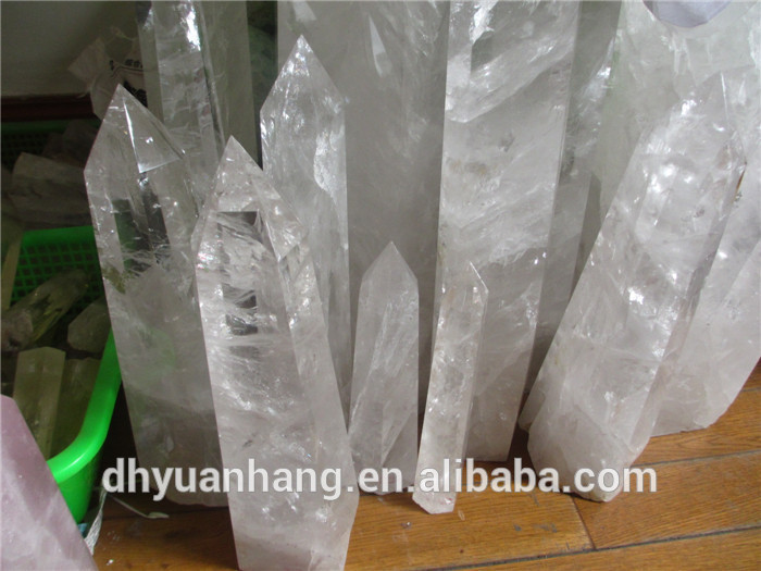 Long And Large Clear Quartz Crystal Points Quartz Crystal