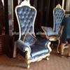 PFC15114A Popular king throne chair of hotel room high back furniture