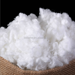 PET bottles recycled polyester staple fiber/polyester fiber waste recycled hollow conjugated polyester staple fiber filling