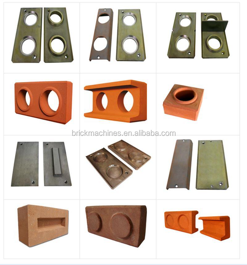 Fl1 25 semi automatic hydraulic interlocking manual brick for Interlocking brick house plans