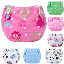 washable baby training pants soft feel nappy antibacterial printed baby cloth diaper