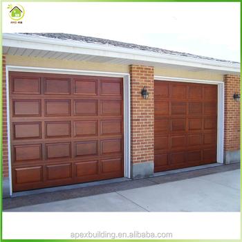 Hot Sale Wood Garage Door Prices Wooden Garage Door Insulation