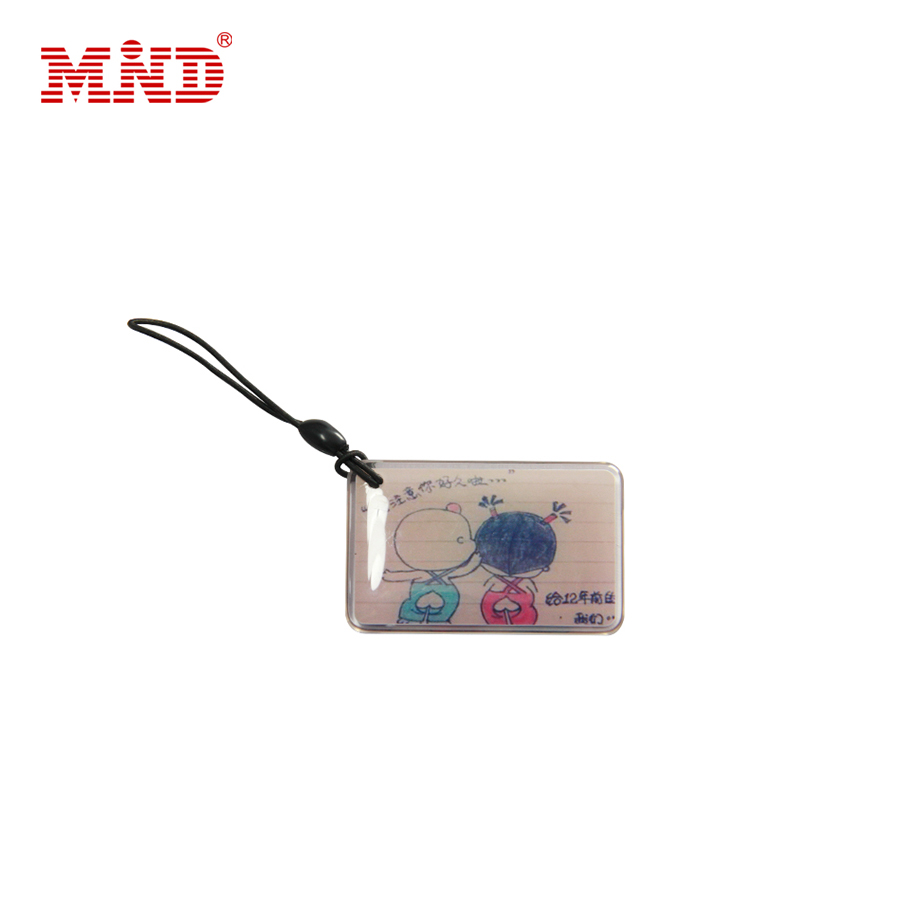 13.56mhz QR code printable epoxy nfc dog tag