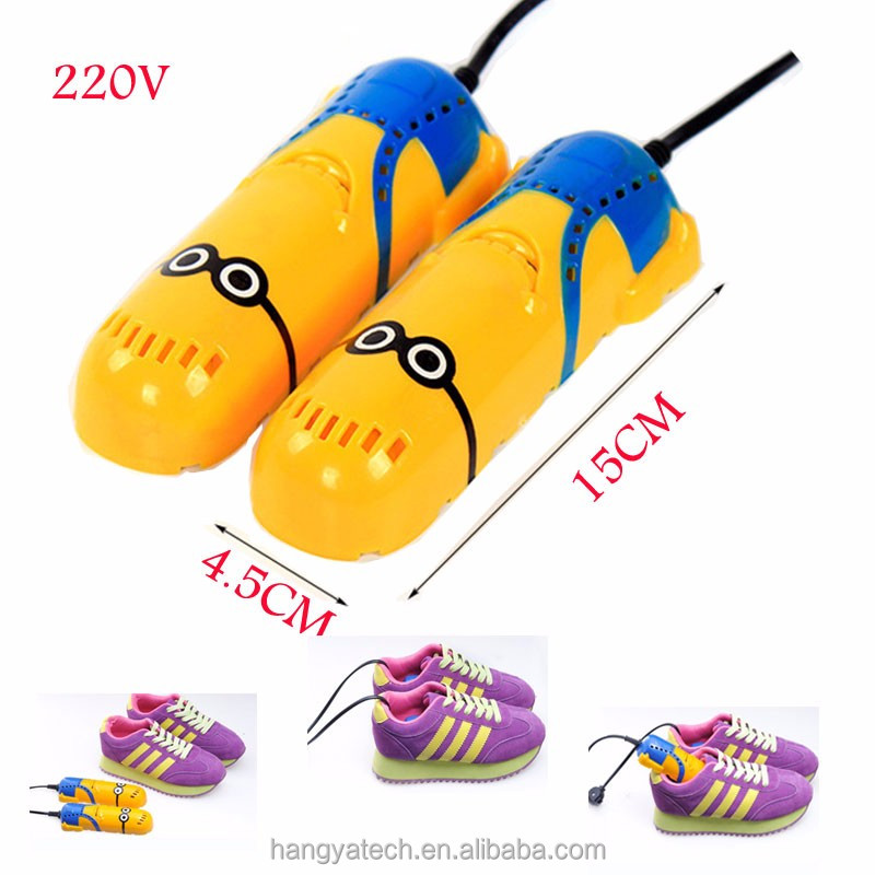 Fashion cartoon electric multifunction UV Sterilizationt sterilize Minions shoes dryer tools