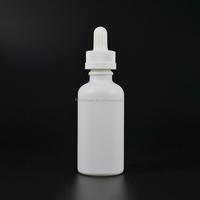 5ml 15ml 20ml 30ml 50ml 60ml 100ml white pump glass dropper bottle for cosmetics e liquid e juice wholesale in China--stock!!!