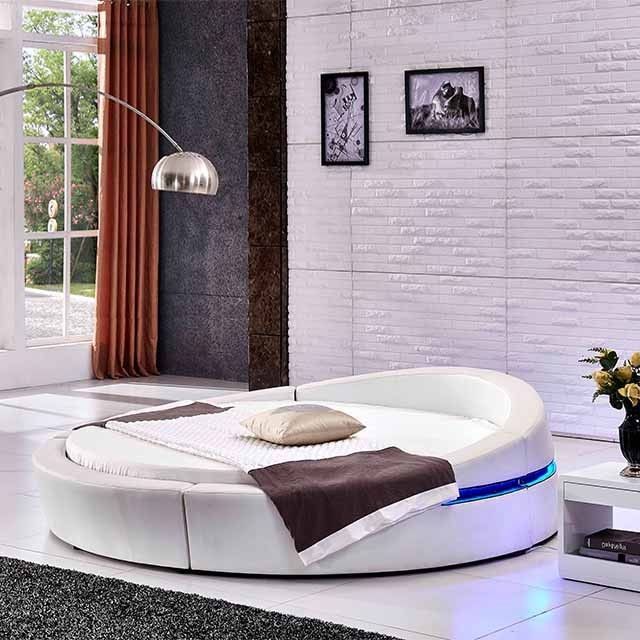 Cheap Modern Bed: Cheap Used Bedroom Furniture Modern Round Bed Designs