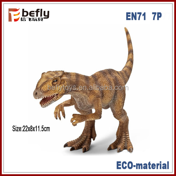 Wholesale mixed lots vivid new ECO plastic dinosaur toys for kids 2016