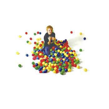 Colourful music and forget the beauty indoor playground big play ball pool with slide