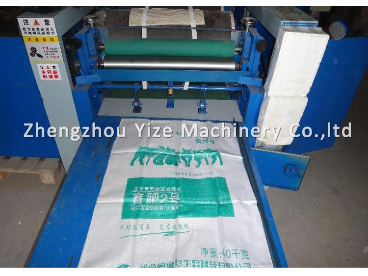 small plastic bag printing machine price non woven fabric bag offset ...