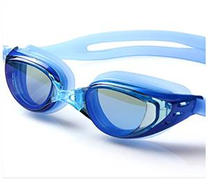 67f4dfa504 Get Quotations · Prescription Swim Goggles for Short  Near Sighted People  Adult Kids Junior Swimming - Mirrored Optical
