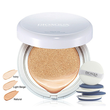 OEM ODM BIOAQUA best easy to create natural brightening makeup air cushion bb cream