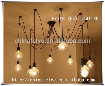 Pendant Chandelier Modern Lighting Black Hanging Pendants Rustic