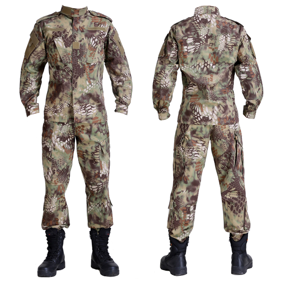 Military clothes store