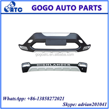 FOR TOYOTA HIGHLANDER 2012 FRONT AND REAR BUMPER GUARD