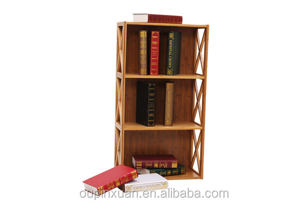 New Design Movable Bamboo Bookshelf Buy Bookshelf Bamboo