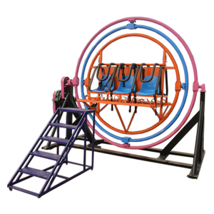 outdoor amusement machine kids used human gyroscope ride for sale
