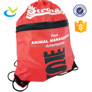 Wholesale cheap nylon polyester padded drawstring bag