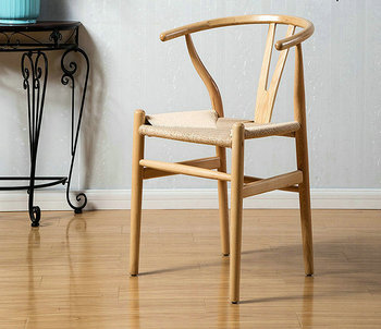 Replica Wishbone Dining Chair Restaurant chair Hans Wegner Y Chair by Ash Wood & Replica Wishbone Dining Chair Restaurant Chair Hans Wegner Y Chair ...