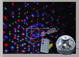 Factory supply directly coloful RGBWYP LED disco light led magic ball