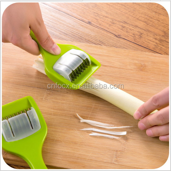 Manual Green Onion Chopper Slicer Garlic Coriander Cutter / onion cutter onion slicer / Vegetable Onion Chopper