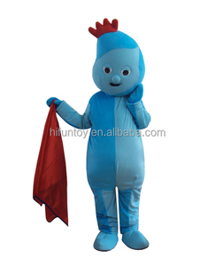 Funtoys CE in the night garden iggle piggle mascot costume made in china