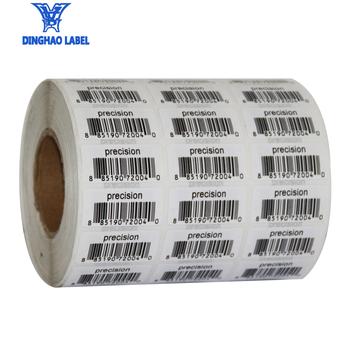 78155efc68b3 Personalizado Rolo de Etiquetas Adesivas de código de barras etiqueta de  Papel De Alta Qualidade