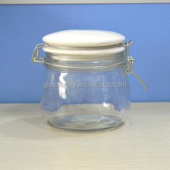 kw6502 2016 hot sale swing top wholesale glass jam jars. Black Bedroom Furniture Sets. Home Design Ideas