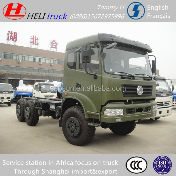 China Dongfeng 6X6 off road military vehicle