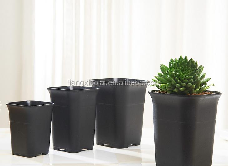 Vasi Plastica Su Misura.Quadrato Nero Succulente Vasi Di Fiori Di Plastica Piantina Fioriera Buy Quadrato Nero Succulente Pentole Vasi Planter Piantina Fioriera Product On